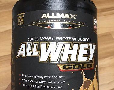 【プロテイン評価】ALLMAX Nutrition「オールホエイゴールド」は味・コスパともに良い!