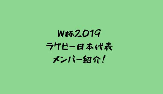 ジェイミージャパン 日本代表メンバー31人をざっくり紹介!キャプテンはリーチマイケル選手!【ラグビーワールドカップ2019】